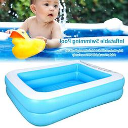 large family swimming pool garden outdoor summer