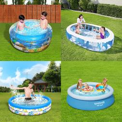 Large Inflatable Easy Set Above Ground Inflatable Family Kid