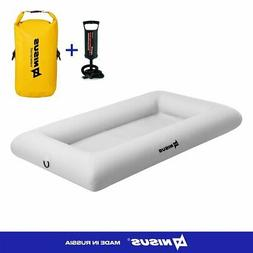 Large Inflatable Floating Cooler Bar with Dry Bag Pump Pool