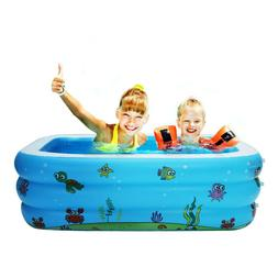 large inflatable swimming pool kids water play