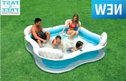 Large Inflatable Swimming Pool Lounge Sturdy for Kids Adult