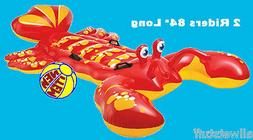 Lobster Inflatable Ride On Water Pool Beach Lake Float Toy I