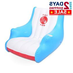 Luxury Floating Lounge Chair with Cup Holders Comfortable In
