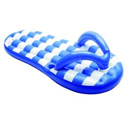 Marine Blue Flip Flop 71 In. Inflatable Pool Float