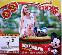 "DISNEY MICKEY,& DONALD BABY / TODDLER 36"" INFLATABLE KIDDE"