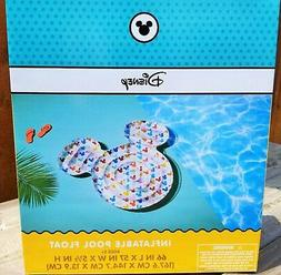 Disney Mickey Mouse Shaped Inflatable Swimming Pool Float /