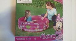 Minnie Mouse W 48 In. By H 10 Inflatable Pool by Disney