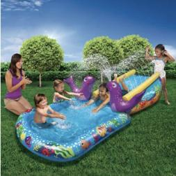 Play Day My First Water Slide Inflatable Pool Sprinkle Water