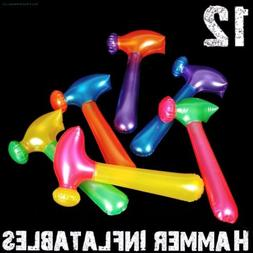 Neon Hammer Tool Inflatables ~ Blow Up Pool Party Fun Kids