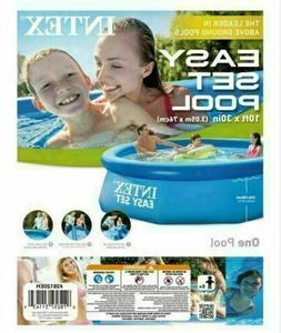 NEW Intex 10 x 30 Inflatable Pool Easy Set Above Ground NO P
