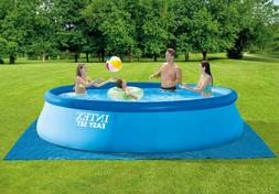 💦NEW Intex 15x42 Easy Inflatable Pool w/ Pump, Cover, Lad