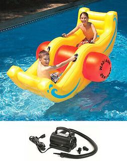 new 9058 pool inflatable float sea saw