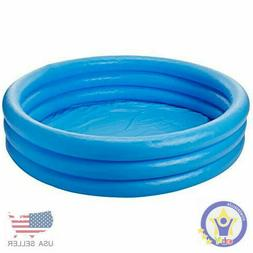 New and Improved Intex Crystal Blue Inflatable Pool, 45 x 10