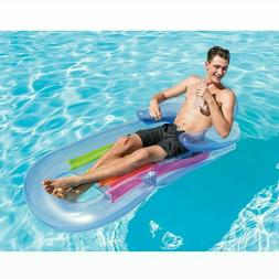 New Floating Lounge Inflatable Comfort Swimming Pool Float C