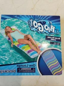 New! Free Ship BESTWAY H2O GO! Deluxe relaxing Inflatable Lo