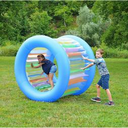 New Giant Inflatable Land Wheel Outdoor Pool Play Indoor Pla