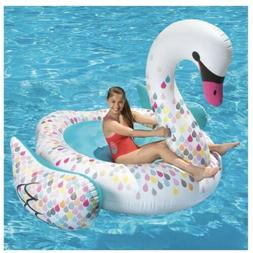 """""""NEW"""" Play Day Giant Inflatable Swan Swimming Pool Inflatabl"""