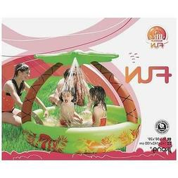 NEW Inflatable Swimming Pool Kid's Jungle Theme with Water S