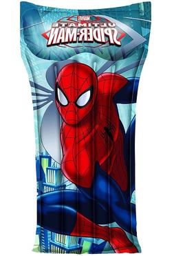 "NEW Marvel Spiderman Beach Mat 47"" x 24"" Pool Float with Rep"