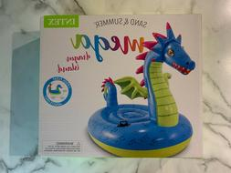 NEW - MEGA Dragon Island Inflatable Pool Float by Intex