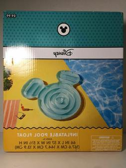 NEW! Disney Mickey Mouse Inflatable Pool Float Blue, from Ta