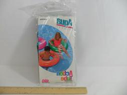 "NEW! RETRO 1997 - AQUA LEISURE - BIG SWIM RING 30"" INFLATABL"