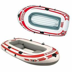 New Jilong Rubber Dingy Inflatable Paddle Boat Cruiser Raft