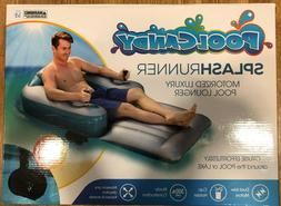 NEW Pool Candy Splash Runner Motorized Inflatable Lounger Po