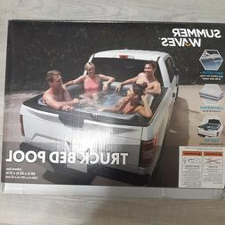 new summer waves inflatable truck bed pool