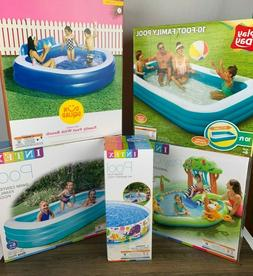 NEW Intex Sunsquad INFLATABLE ABOVE GROUND SWIMMING POOL Fam