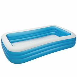 "NEW Intex Swim Center Family Inflatable Pool |120"" X 72"" X 2"
