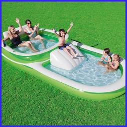 Bestway H2OGO! Family Pool With Slide, Inflatable Boat, Fre
