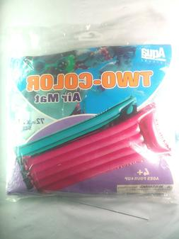 NOS AQUA LEISURE Two Color Inflatable Pool Float Raft Matres