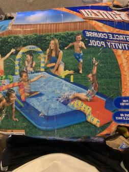 Brand New Banzai Obstacle Courses Activity Pool with 5 Activ
