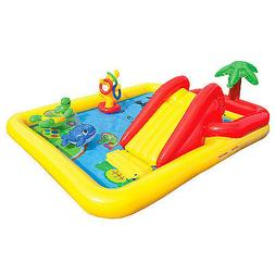 "Intex Ocean Inflatable Play Center, 100"" X 77"" X 31"", for Ag"
