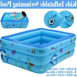 Outdoor Inflatable Family and Kids Swimming Pool Swim Center