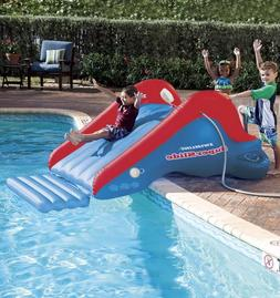 Outdoor Inflatable Water Slide for Kids Bounce Pool Slide Wa