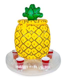BigMouth Inc Inflatable Pineapple Cooler, Holds 5 Drinks, Ea