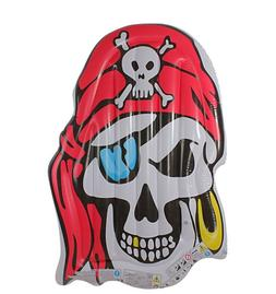 pirate skull inflatable pool float