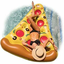 Floatie Kings 6 Feet Pizza Pool Float with Cup Holders