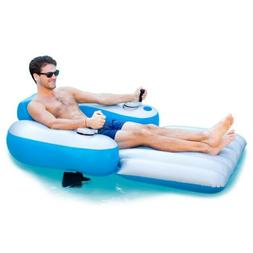 Pool Candy Splash Runner Motorized Inflatable Lounger Pool/L