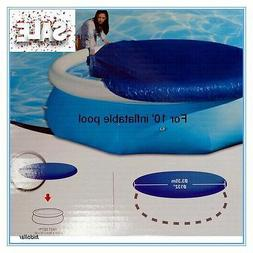 POOL COVER FOR INTEX AQUA DRICLAD 10' FOOT 305cm INFLATABLE