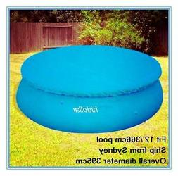 POOL COVER FOR INTEX AQUA DRICLAD 12' FOOT 366cm INFLATABLE
