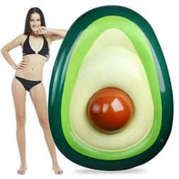 Pool Float Inflatable Avocado Pool Floatie with Ball Summer