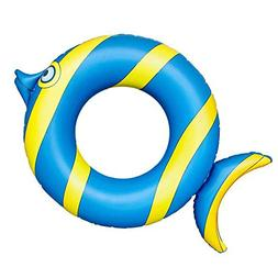 Pool Floats, Fish Pool Float Inflatable Float Tube Ring with