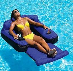 Pool Floats For Adults Kids Loungers Inflatable Fabric Comfo