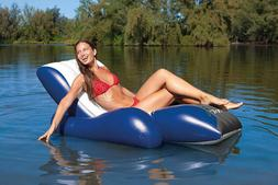 Pool Floats With Cup Holders For Adults Inflatable Lounge Ch