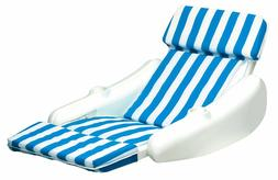 Pool Lounger Floating Chair With Cup Holder Lake Cabin Infla