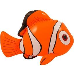 Inflatable Nemo Pool Toy Play Orange Clown Fish Blow Up Ocea