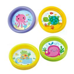 portable baby inflatable swimming pool cartoon round